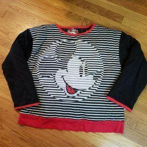 Vtg Disney DonnKenny Reversible Puffy Sweatshirt